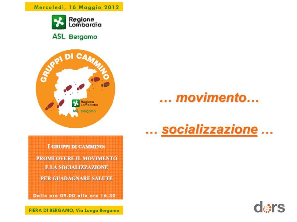 … movimento… … socializzazione …