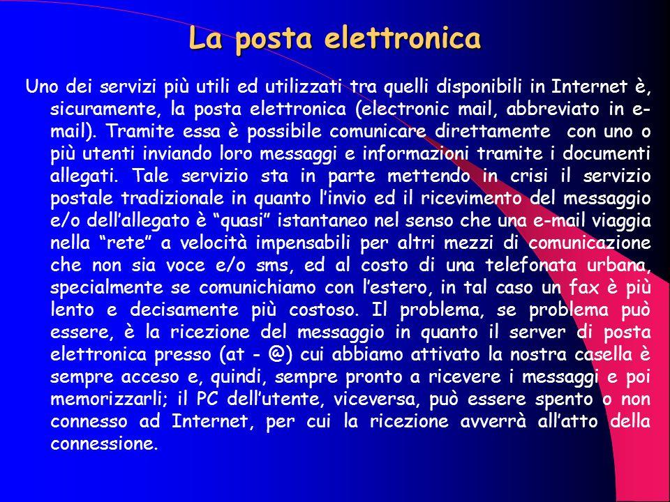 Domini ed identificativi 212.216.112.222, ad esempio è un indirizzo IP statico che identifica il server della Telecom Italia Net (TIN), ma tale numero