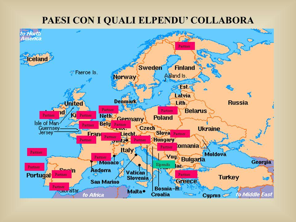 Partner PAESI CON I QUALI ELPENDU COLLABORA Elpendù Partner