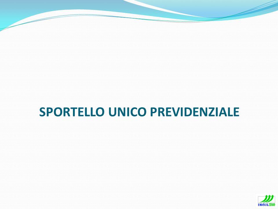 PREMESSE GENERALI – IL DURC Lapplicativo di Sportello Unico è il sistema integrato INAIL, INPS e Casse edili per la richiesta ed il rilascio del DURC.