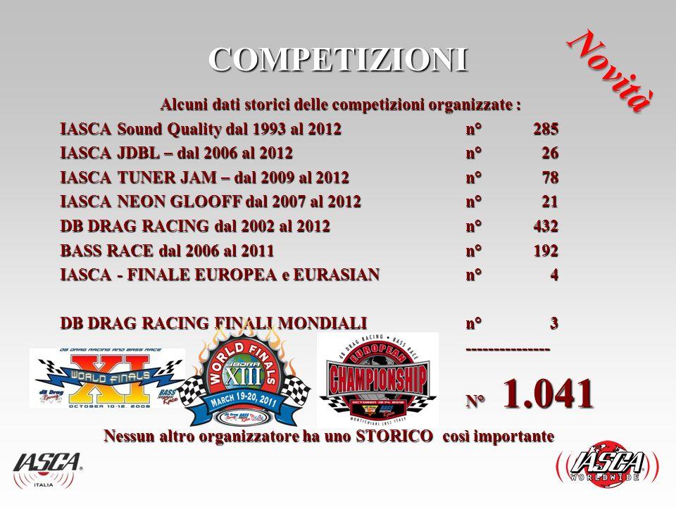 COMPETIZIONI BENEFICHE IASCA ITALIA SRL è da anni che si occupa anche di beneficenza, da 10 anni si svolge la gara di Reggiolo RE ) in collaborazione con GRA.D.E.