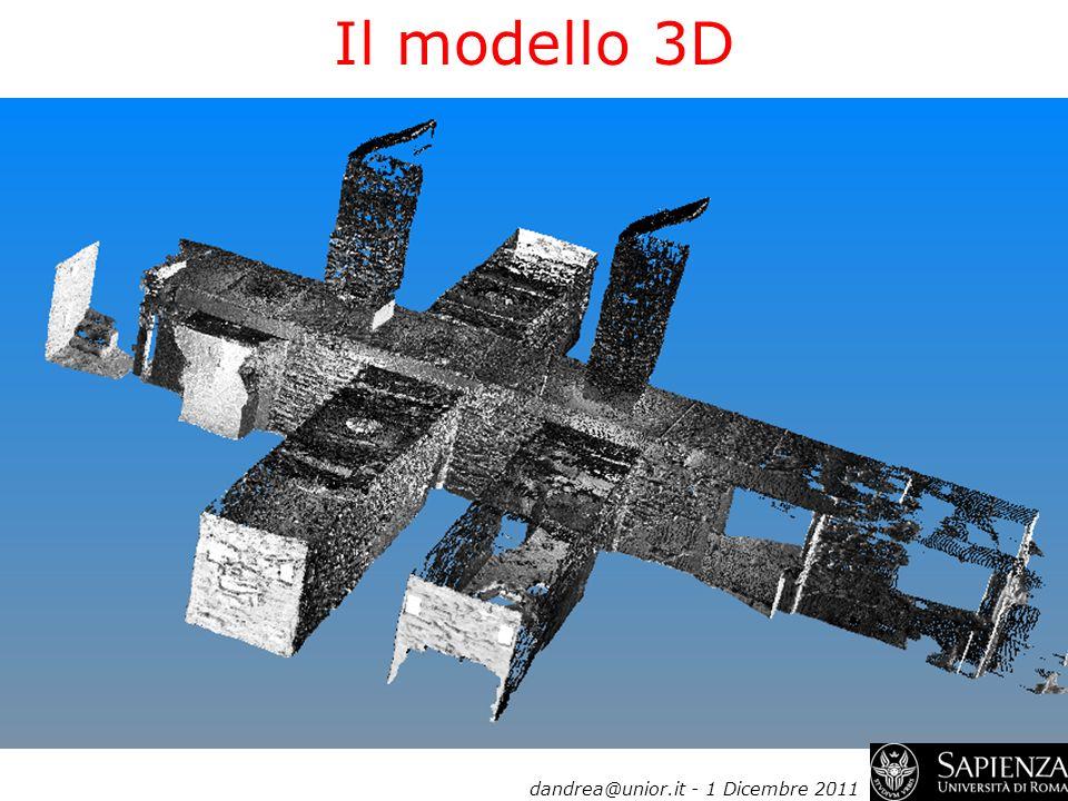 Il modello 3D dandrea@unior.it - 1 Dicembre 2011