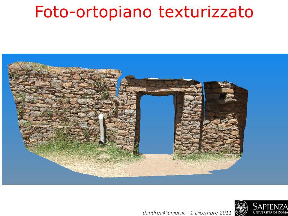 Foto-ortopiano texturizzato dandrea@unior.it - 1 Dicembre 2011