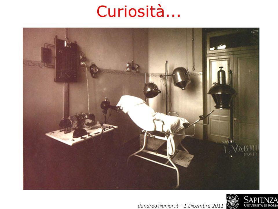 Curiosità... dandrea@unior.it - 1 Dicembre 2011
