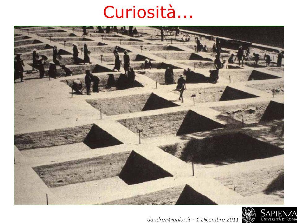 dandrea@unior.it - 1 Dicembre 2011 Curiosità...