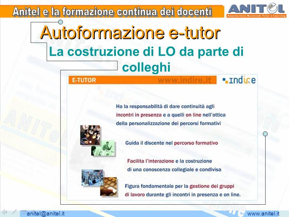 www.anitel.itanitel@anitel.it Le scelte tematiche La preferenza per aspetti cooperativi