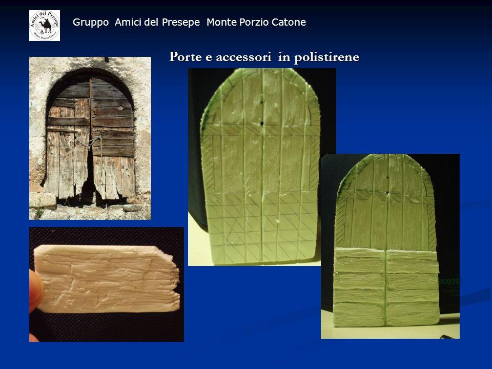 Porte e accessori in polistirene