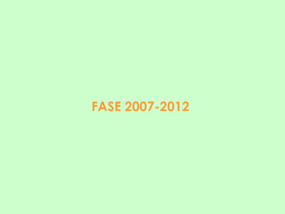 FASE 2007-2012