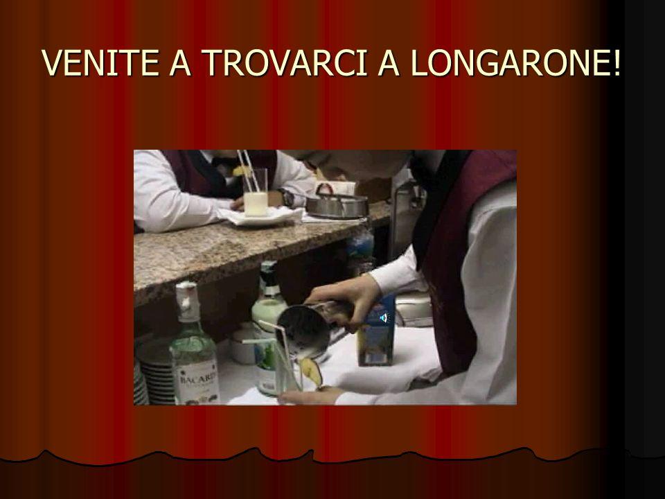 VENITE A TROVARCI A LONGARONE!