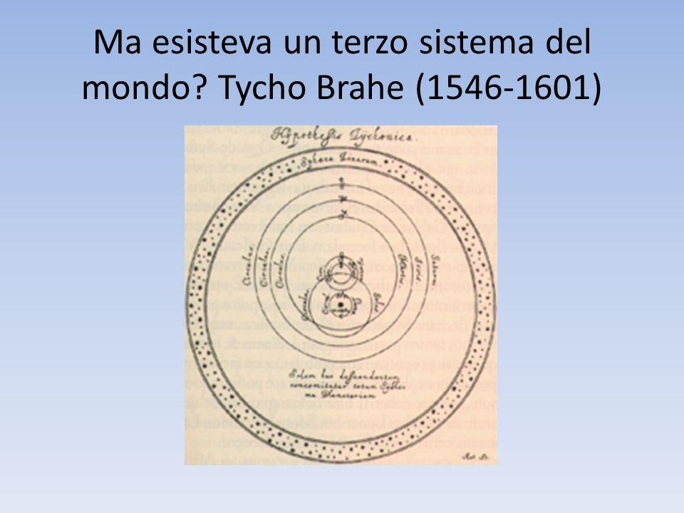 Ma esisteva un terzo sistema del mondo? Tycho Brahe (1546-1601)