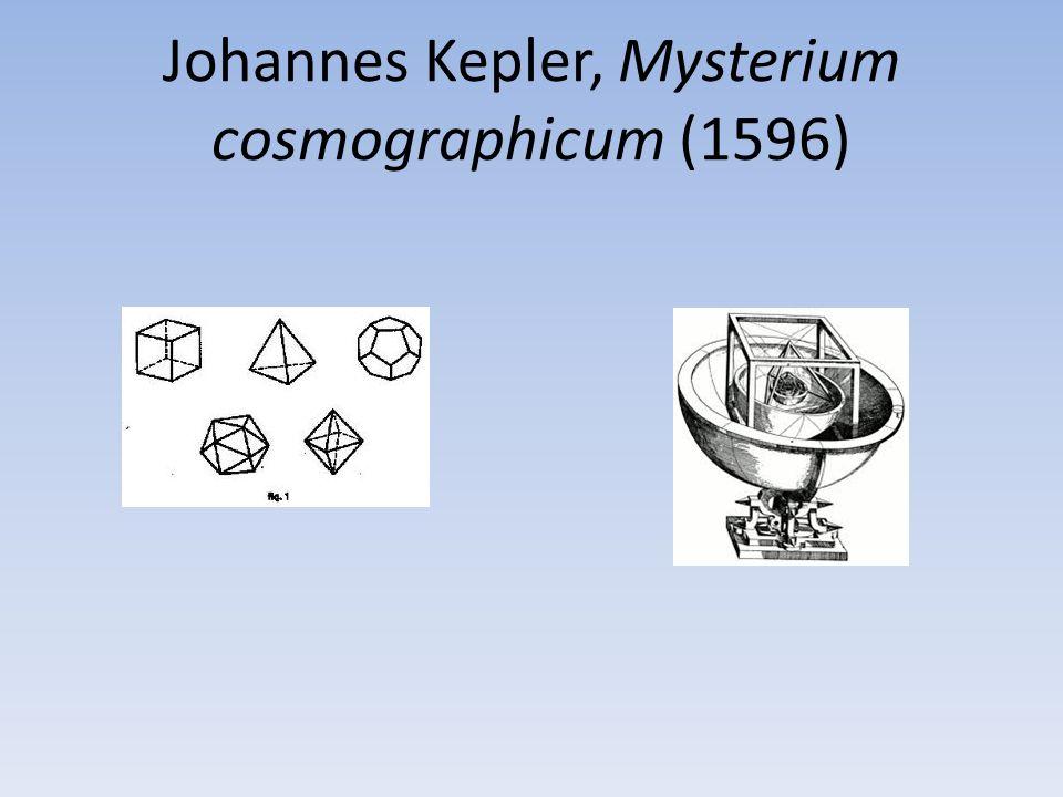 Johannes Kepler, Mysterium cosmographicum (1596)