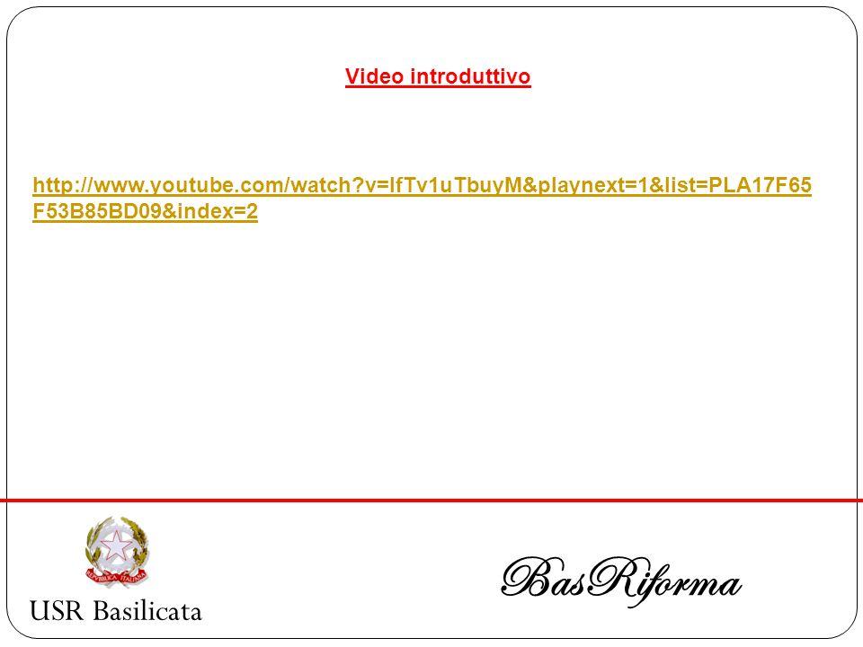 USR Basilicata BasRiforma