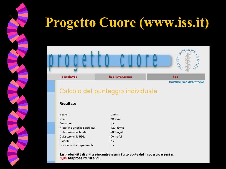Progetto Cuore (www.iss.it)