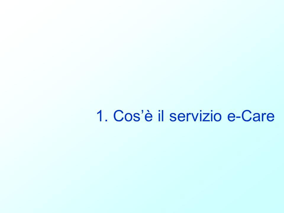 1. Cosè il servizio e-Care