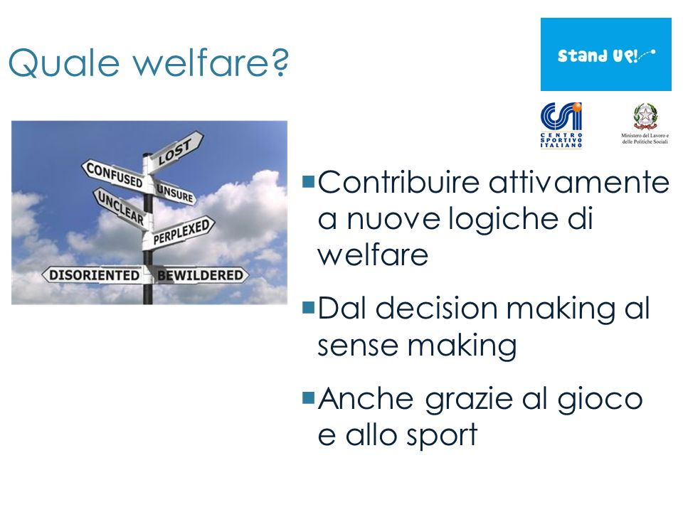 Quale welfare.