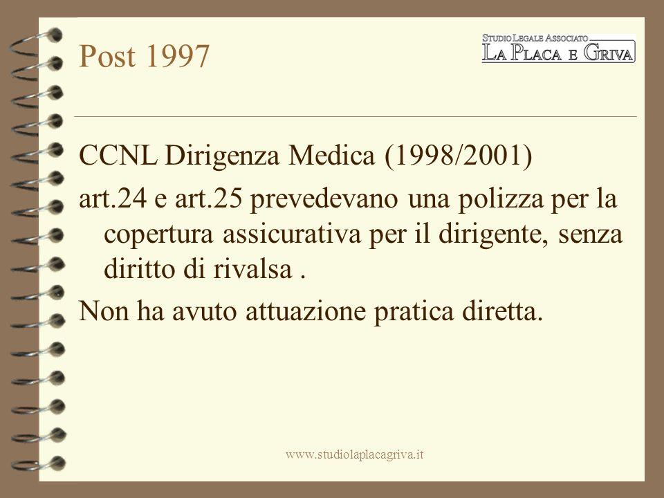 SOLUZIONI per la dirigenza medica A.