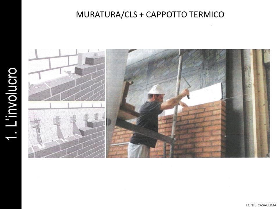 MURATURA/CLS + CAPPOTTO TERMICO FONTE CASACLIMA 1. Linvolucro