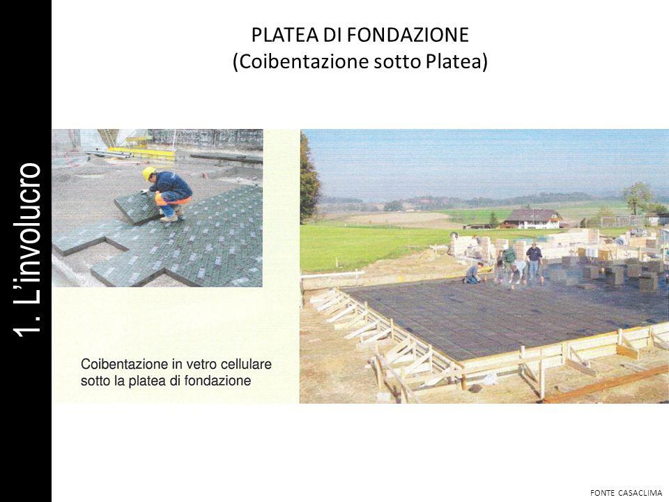 PLATEA DI FONDAZIONE (Coibentazione sotto Platea) FONTE CASACLIMA 1. Linvolucro