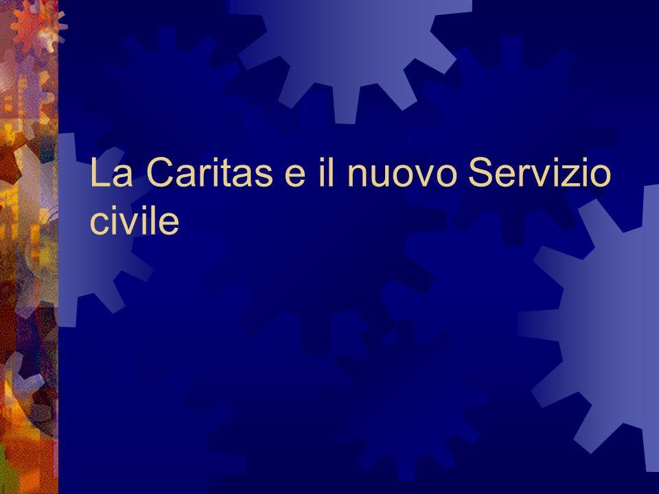 La Caritas e il nuovo Servizio civile