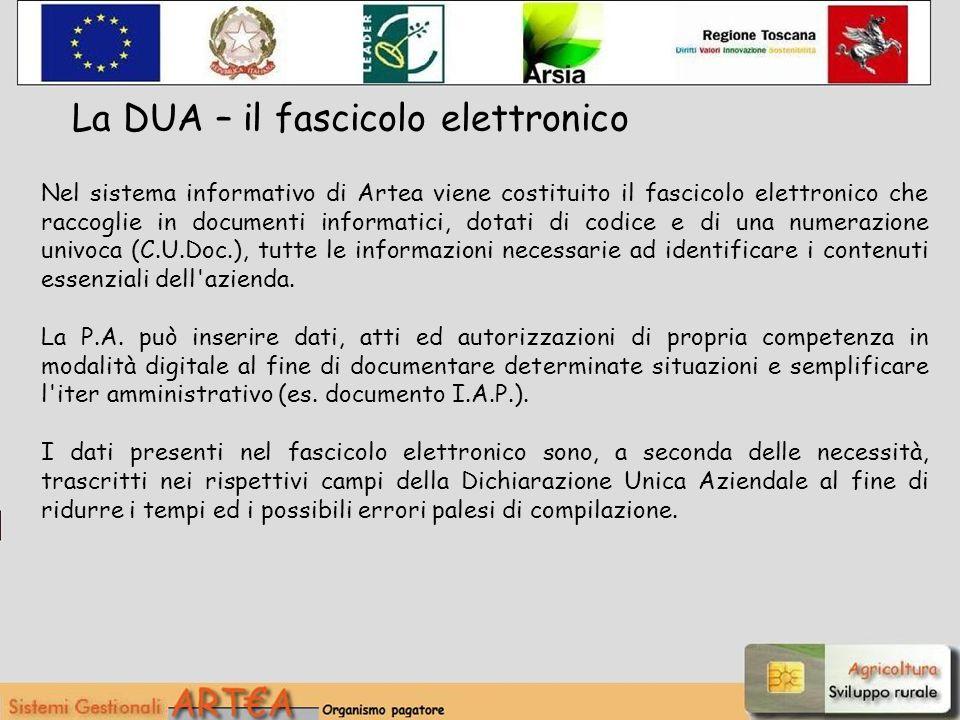 Nel sistema informativo di Artea viene costituito il fascicolo elettronico che raccoglie in documenti informatici, dotati di codice e di una numerazio