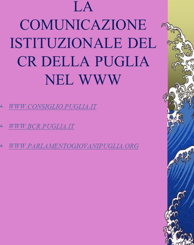 I PROGETTI VALORIALI: UN ESEMPIO I progetti valoriali guardano con speciale attenzione alle giovani generazioni: 1) I quotidiani della tua Puglia in c