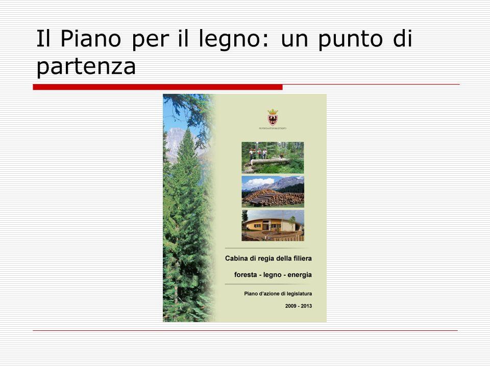 Il Piano per il legno: un punto di partenza