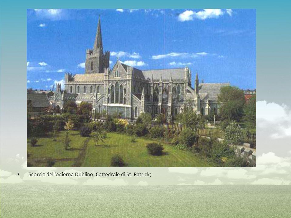 Scorcio dell'odierna Dublino: Cattedrale di St. Patrick;