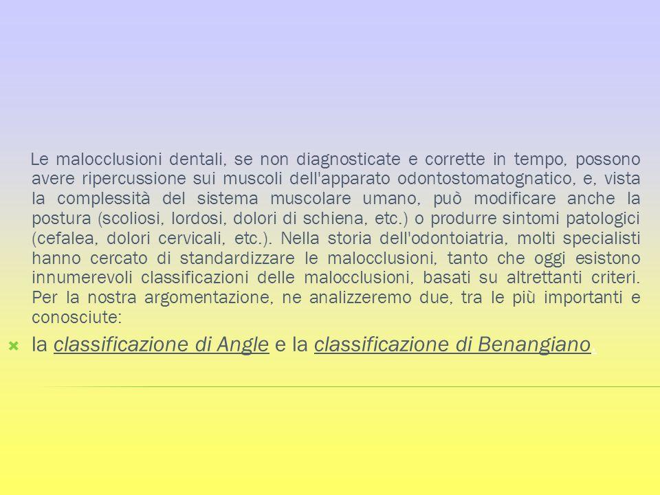 Le malocclusioni dentali, se non diagnosticate e corrette in tempo, possono avere ripercussione sui muscoli dell'apparato odontostomatognatico, e, vis