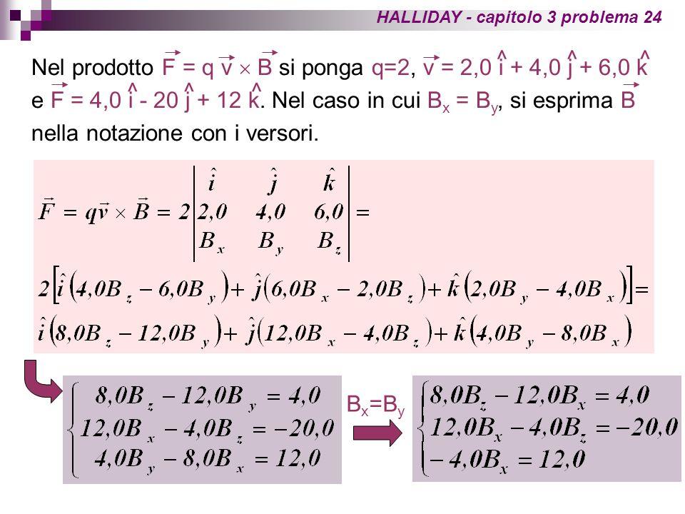 Abbiamo un sistema di 3 equazioni con 2 incognite.