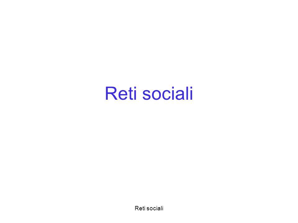 Reti sociali