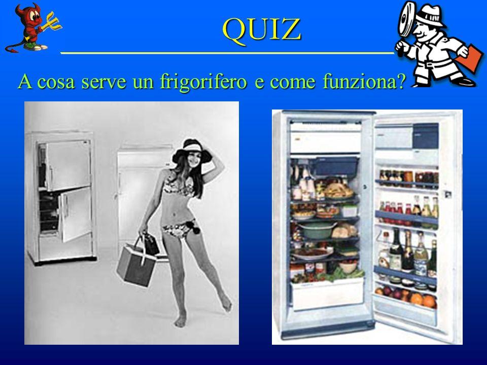 © Dario Bressanini 34 QUIZ A cosa serve un frigorifero e come funziona?