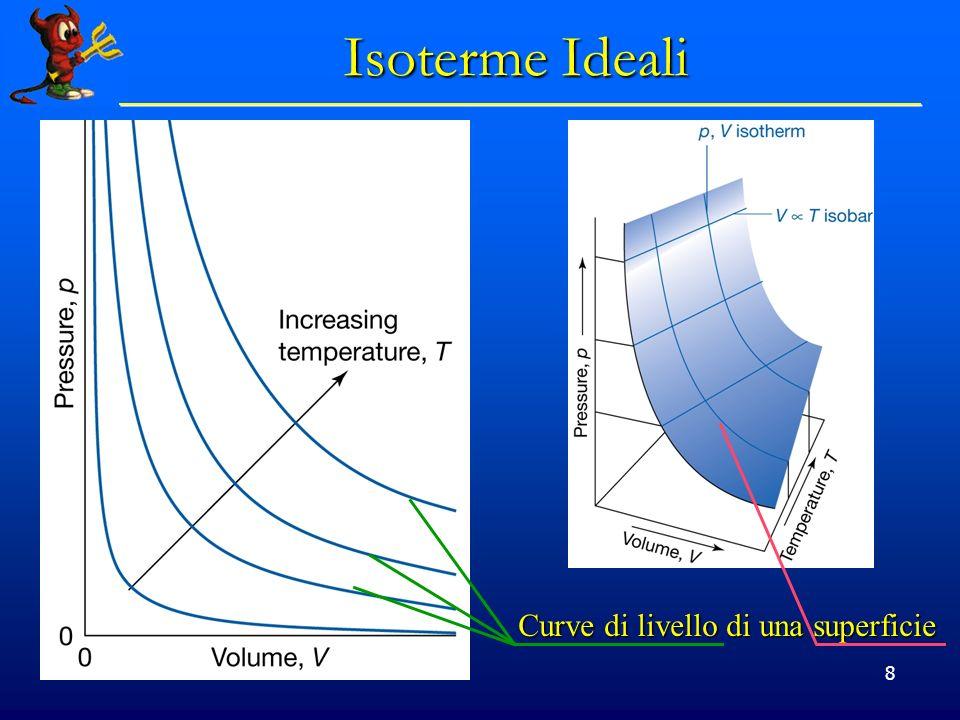 © Dario Bressanini 8 Isoterme Ideali Curve di livello di una superficie
