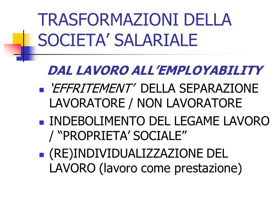 The context of activation in Italy The grey zone (among 15-64 aged not employed; 2007, data in thousand)