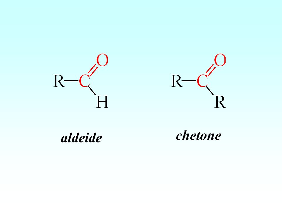 aldeide chetone
