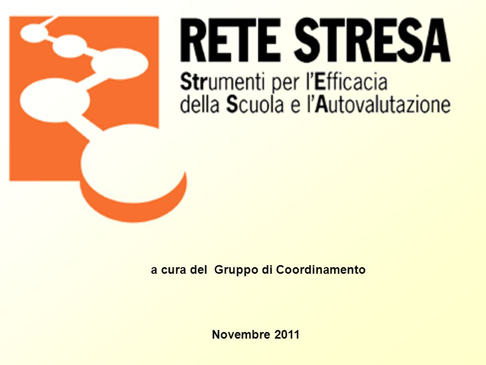 a cura del Gruppo di Coordinamento Novembre 2011