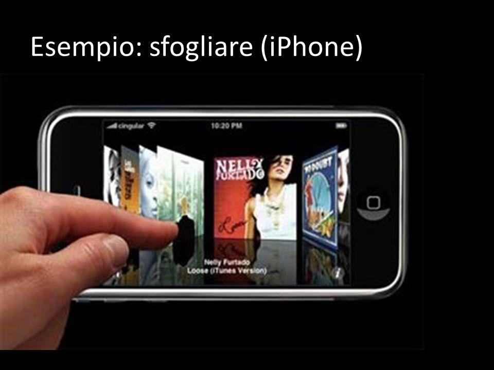 Esempio: sfogliare (iPhone)