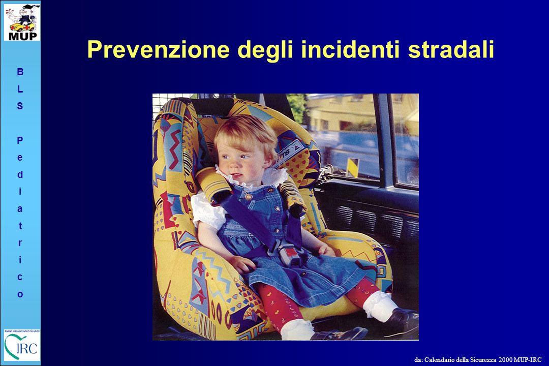 BLSPediatricoBLSPediatrico Prevenzione degli incidenti stradali da: Calendario della Sicurezza 2000 MUP-IRC