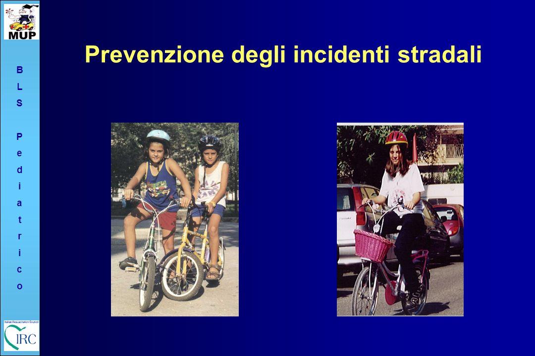 BLSPediatricoBLSPediatrico Prevenzione degli incidenti stradali