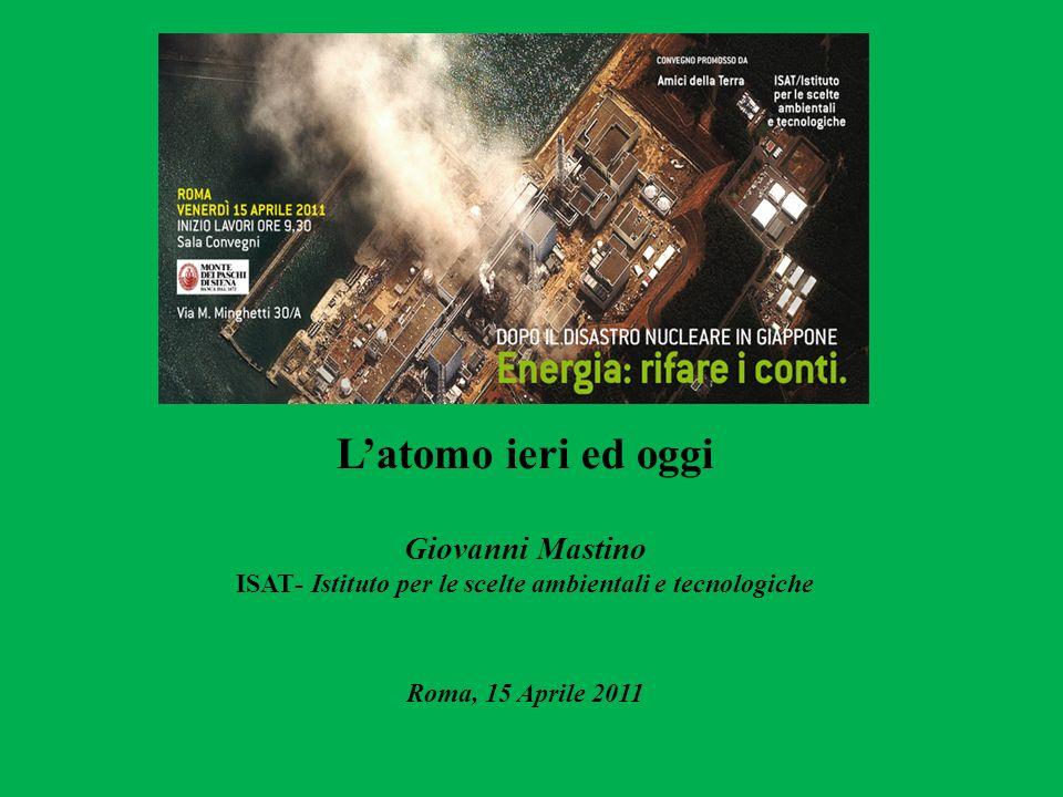 Latomo ieri ed oggi Giovanni Mastino ISAT- Istituto per le scelte ambientali e tecnologiche Roma, 15 Aprile 2011