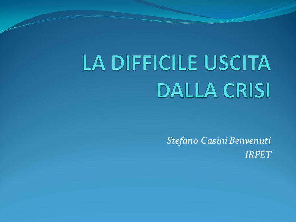 Stefano Casini Benvenuti IRPET