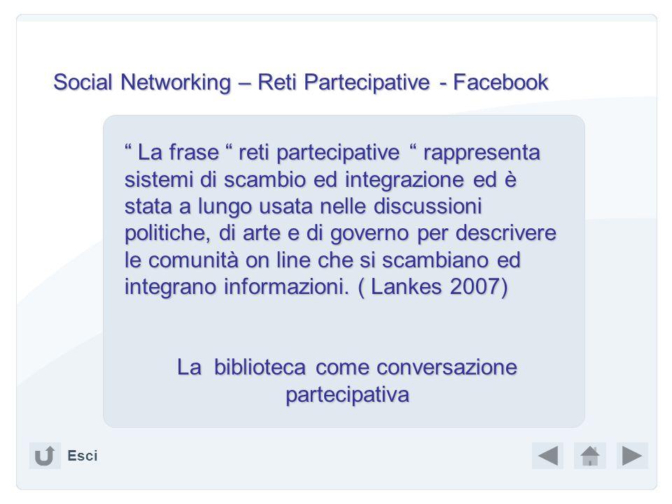 Esci Per saperne di più: http://www.sspnet.org/documents/255_S haw.ppt http://www.sspnet.org/documents/255_S haw.ppt http://www.rss4lib.com/ http://ww