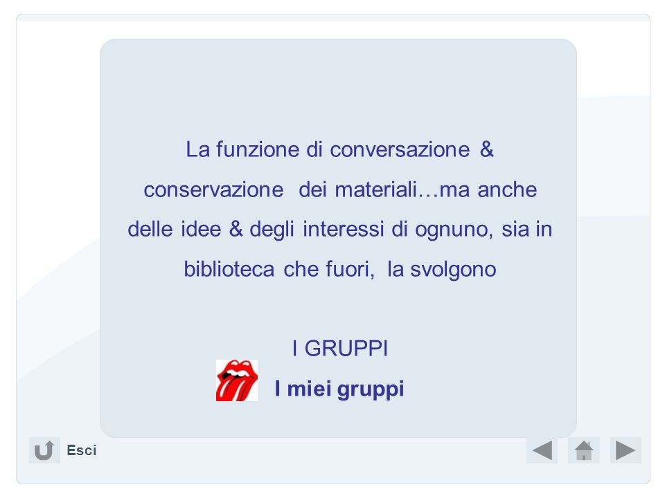 Le mie pagine (CIBER )CIBER Amici in altre reti ( ITALY )ITALY Reti di cui fai parte ………….. Foto, slide & facezie…. (Gouaches )Gouaches Esci