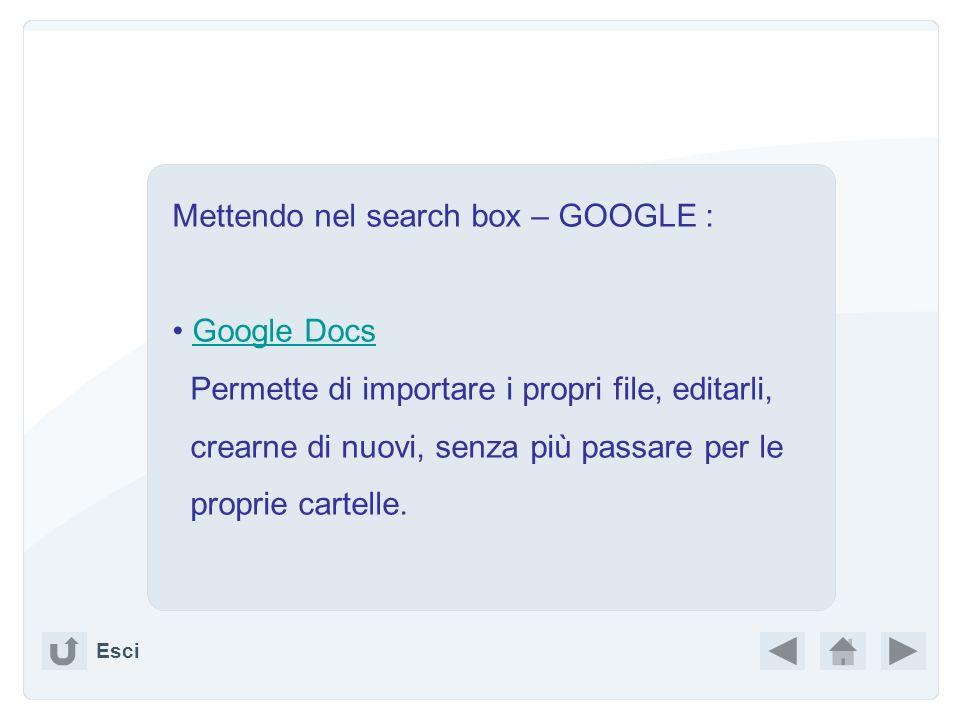 http://www.google.it/ a destra in alto iGoogle crea la tua home page aggiungi elementi (gadget) Esci