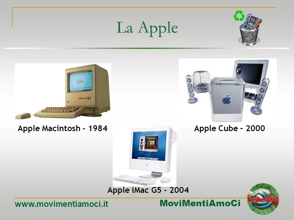 MoviMentiAmoCi www.movimentiamoci.it Ibm Pc - 1981 Apple ][- 1977 Altair 8800 - 1975 Xerox Alto - 1973 Personal computer PC Acer Veritron - 2004