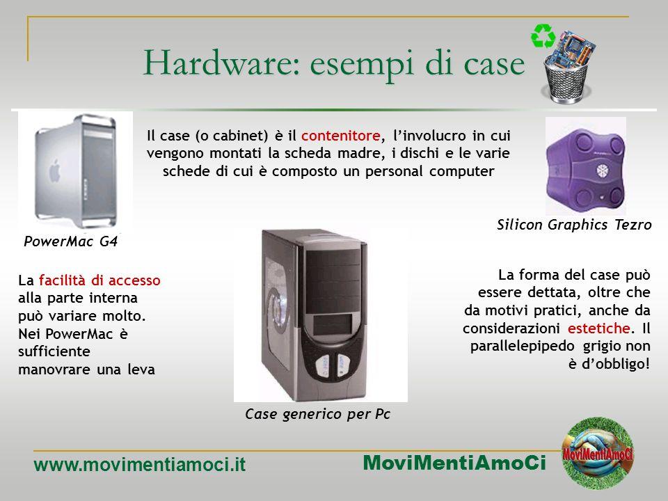 MoviMentiAmoCi www.movimentiamoci.it Apple Macintosh - 1984Apple Cube – 2000 La Apple Apple iMac G5 - 2004