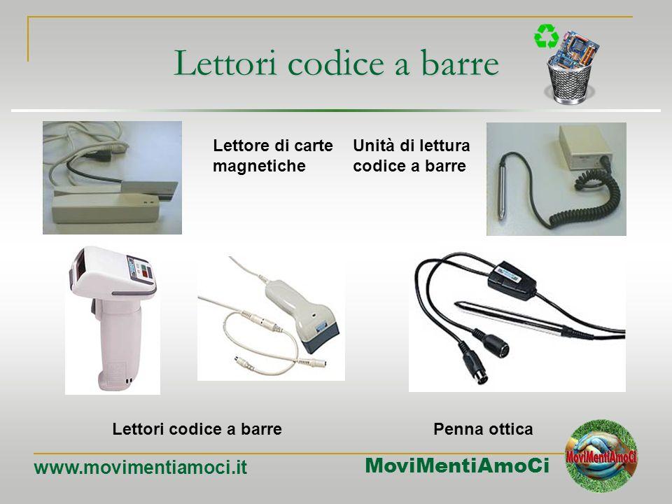 MoviMentiAmoCi www.movimentiamoci.it Input: gli scanner scanner Lo scanner è un dispositivo che consente al computer di acquisire immagini, fotografie