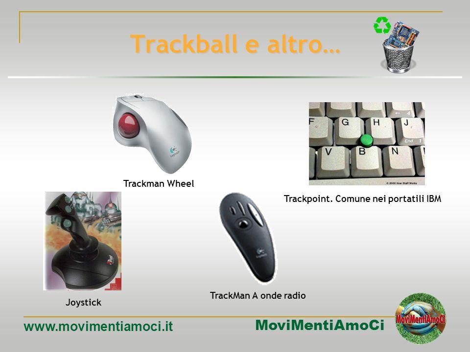 MoviMentiAmoCi www.movimentiamoci.it Il mouse Il primo mouse venne progettato da Douglas Engelbart nel 1968, ma perché si diffondesse commercialmente
