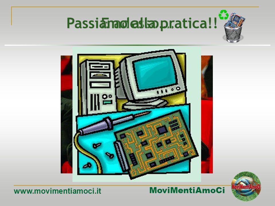 MoviMentiAmoCi www.movimentiamoci.it Firewire Anche linterfaccia Firewire è di tipo seriale. Uno dei vantaggi delle interfacce seriali rispetto a quel