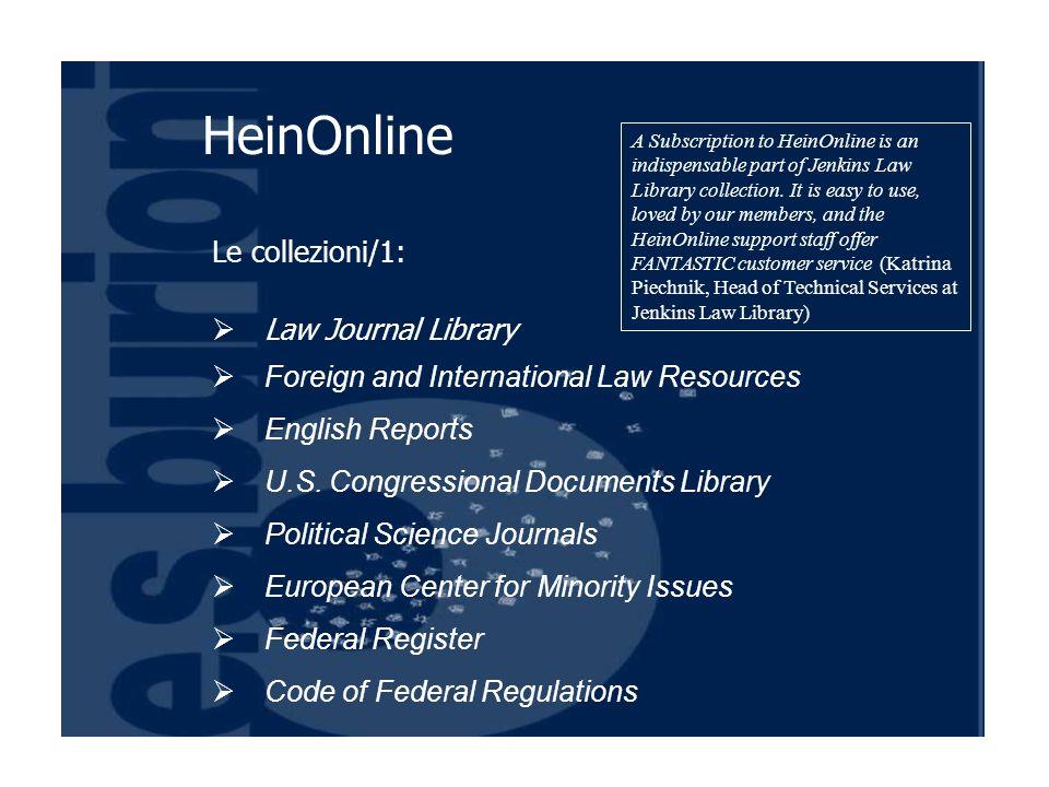 Le collezioni/2: Legal Classics Library Philip C.