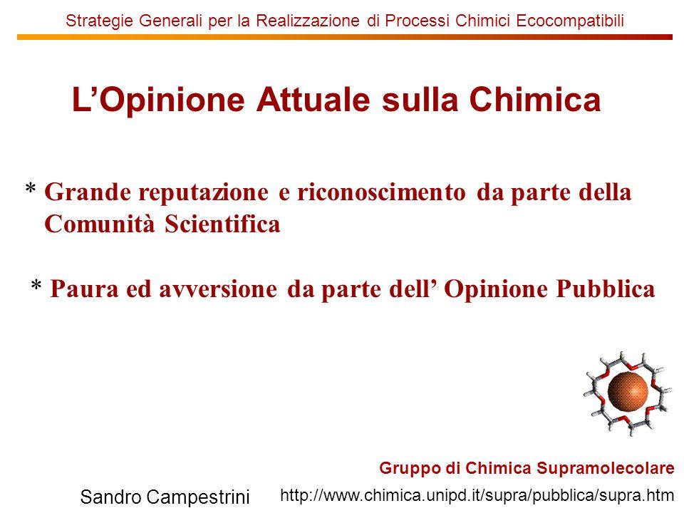 U of T Sandro Campestrini Strategie Generali per la Realizzazione di Processi Chimici Ecocompatibili Mo(VI),H 2 O 2,KBr H 2 O / CH 2 Cl 2 94% 6% Mo(VI),H 2 O 2,KBr H 2 O / CH 2 Cl 2 V(V),H 2 O 2,KBr H 2 O / CH 2 Cl 2 V(V),H 2 O 2,KBr H 2 O / CH 2 Cl 2 73% 27% 94% 6% 100% 0% + + + + Reagenti Alternativi (H 2 O 2 e Br - in luogo di Br 2 )